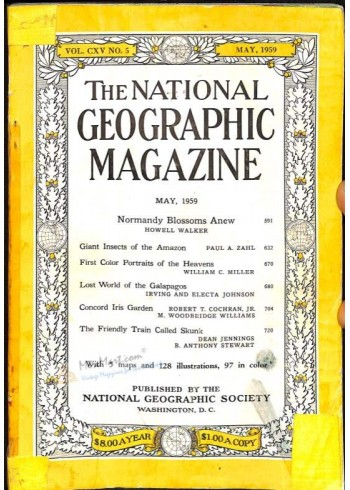 National Geographic, May 1959