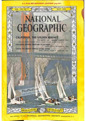 National Geographic, May 1966