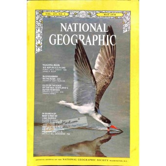 Cover Print of National Geographic, May 1970