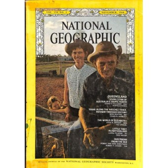 National Geographic Magazine, November 1968