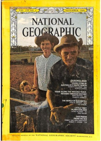 National Geographic, November 1968