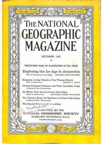 Cover Print of National Geographic, October 1935
