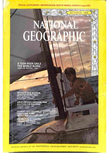 Cover Print of National Geographic, October 1968