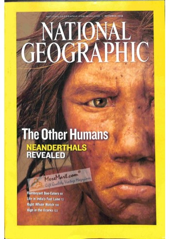 National Geographic, October 2008