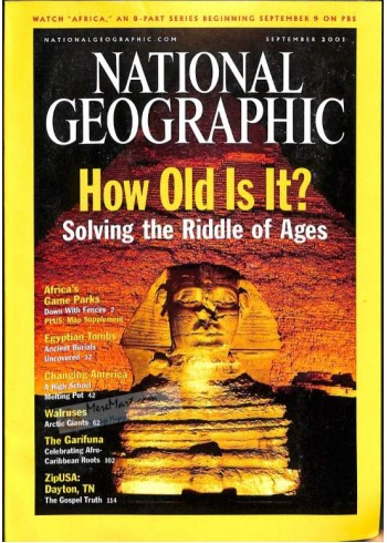 National Geographic, September 2001