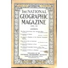 Cover Print of National Geographic Magazine, April 1918