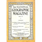 Cover Print of National Geographic Magazine, April 1925
