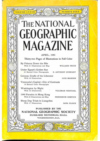 National Geographic, April 1940
