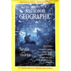 Cover Print of National Geographic Magazine, April 1987