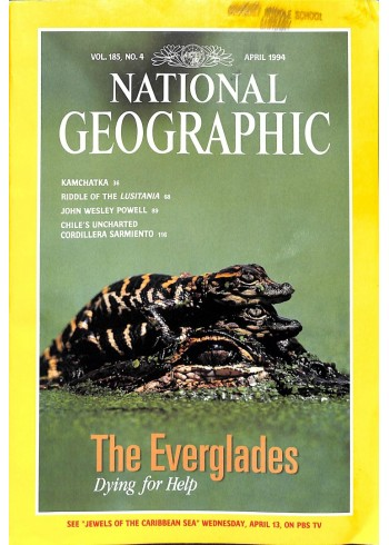 National Geographic Magazine, April 1994