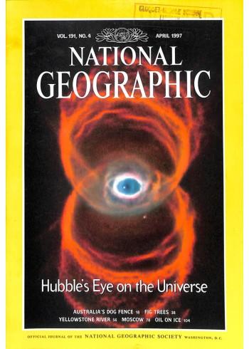 National Geographic Magazine, April 1997