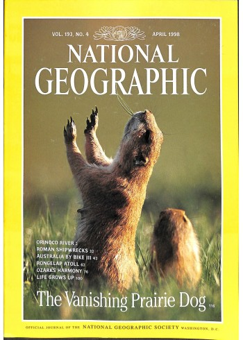 National Geographic, April 1998