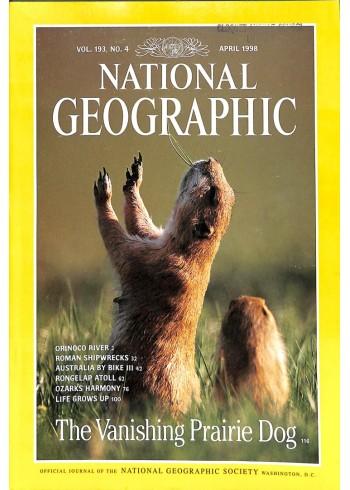 National Geographic Magazine, April 1998