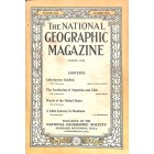 Cover Print of National Geographic Magazine, August 1916