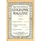 Cover Print of National Geographic Magazine, August 1920