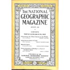 Cover Print of National Geographic Magazine, August 1924