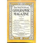 Cover Print of National Geographic Magazine, August 1932