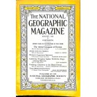 Cover Print of National Geographic Magazine, August 1933