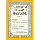 Cover Print of National Geographic Magazine, August 1937