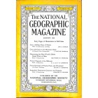 Cover Print of National Geographic Magazine, August 1939