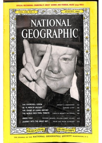 Cover Print of National Geographic Magazine, August 1965