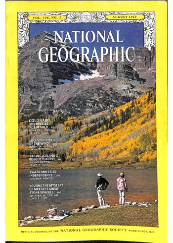 Cover Print of National Geographic Magazine, August 1969