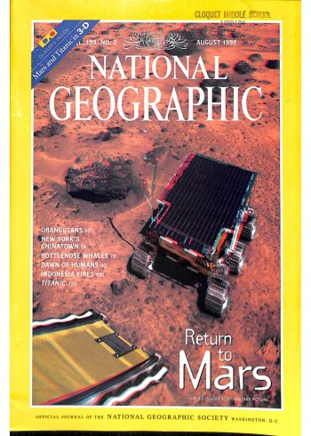 National Geographic Magazine, August 1998