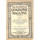 Cover Print of National Geographic Magazine, December 1918