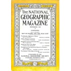 Cover Print of National Geographic Magazine, December 1929