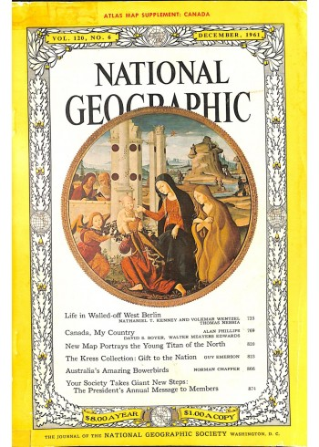 National Geographic, December 1961