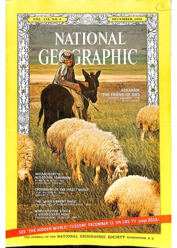 Cover Print of National Geographic Magazine, December 1966