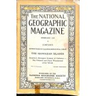 Cover Print of National Geographic Magazine, February 1924
