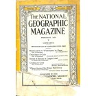National Geographic Magazine, February 1929