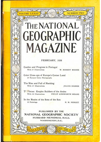 National Geographic, February 1938