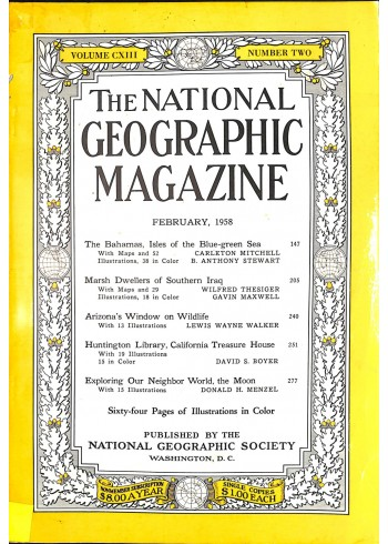 National Geographic, February 1958