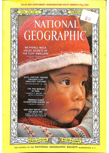 National Geographic, February 1964