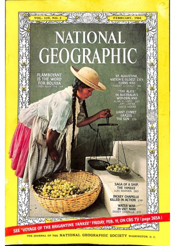 National Geographic Magazine, February 1966