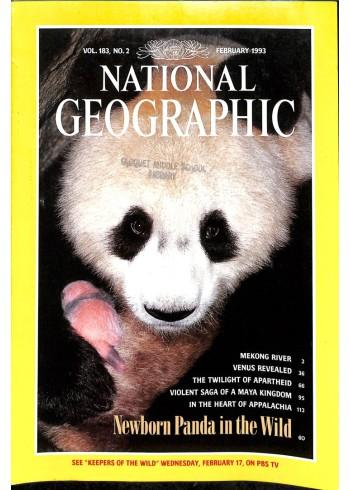 National Geographic Magazine, February 1993