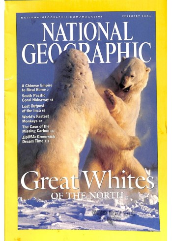Cover Print of National Geographic Magazine, February 2004
