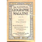 Cover Print of National Geographic Magazine, January 1916