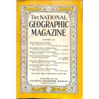 Cover Print of National Geographic Magazine, January 1941