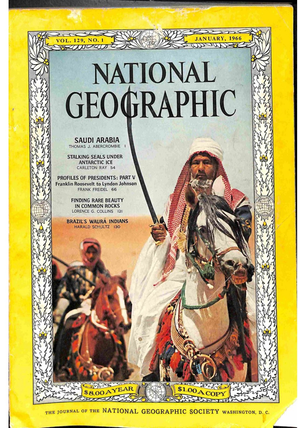 National Geographic, January 1966