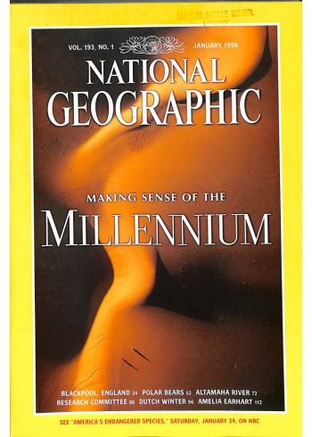 National Geographic Magazine, January 1998
