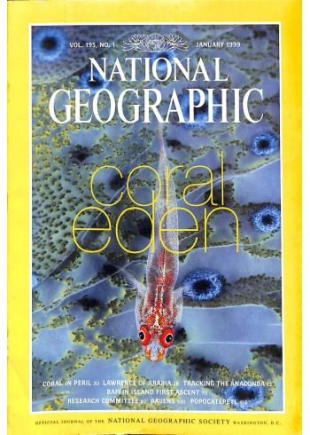 National Geographic Magazine, January 1999
