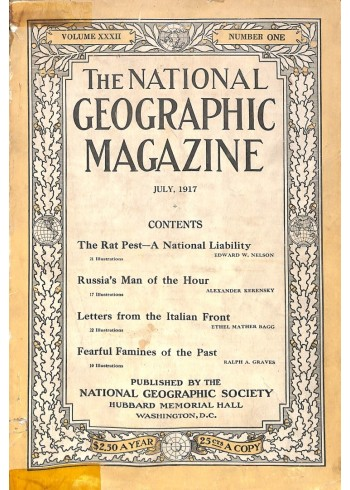 National Geographic Magazine, July 1917