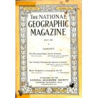 Cover Print of National Geographic Magazine, July 1924