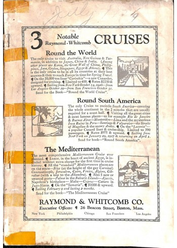 National Geographic Magazine, July 1926