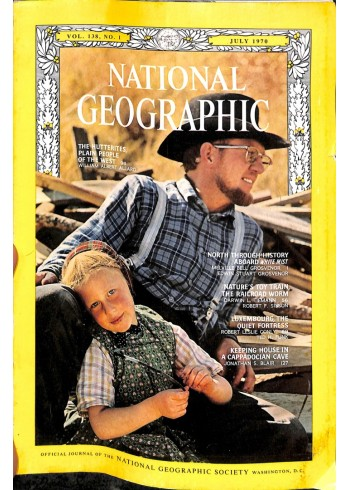 National Geographic Magazine, July 1970