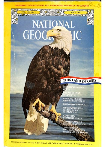 Cover Print of National Geographic Magazine, July 1976