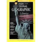 National Geographic Magazine, July 1986